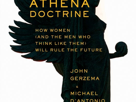 The Athena Doctrine cover jacket