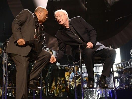 Quincy Jones, Michael Caine