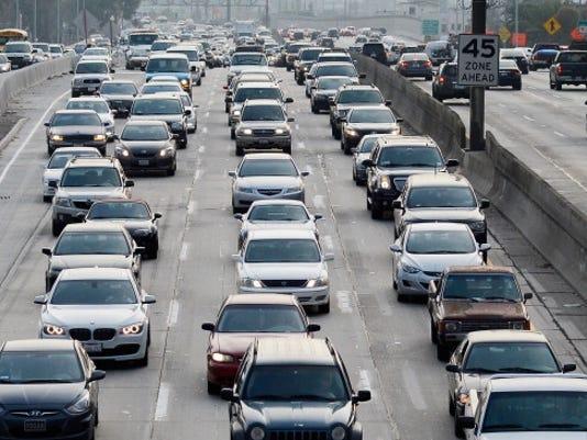 traffic los angeles getty 2013