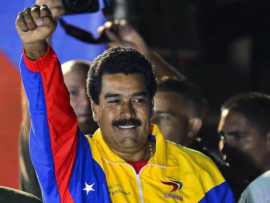 Maduro celebrates