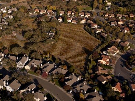 urban sprawl windsor calif 2012 getty
