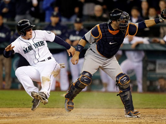 2013-04-18 Kyle Seager Mariners