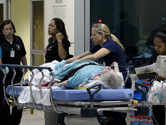 Victim rushed to a nearby hospital after explosion in Texas