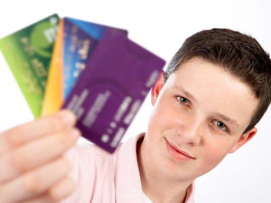 credit card teens