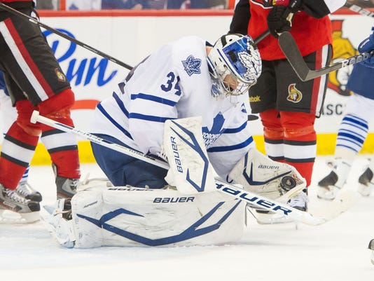 2013-04-20 James Reimer Maple Leafs