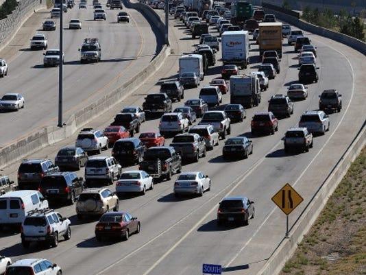 traffic denver interstate 25 2012