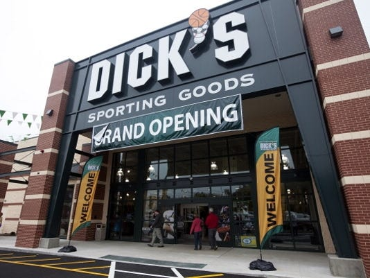 dicks sporting goods mass 2012