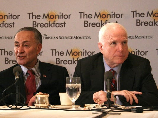 Schumer and McCain