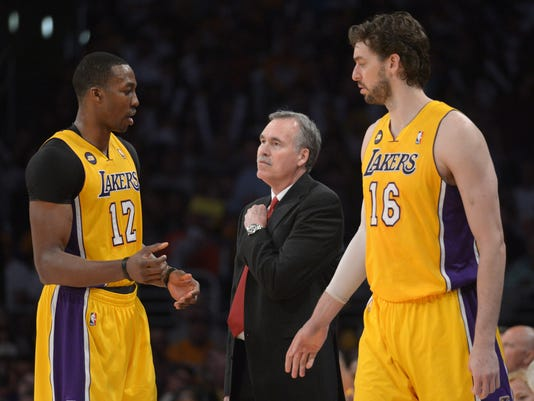 Lakers mess
