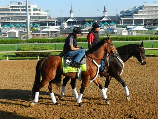 2013-04-30-kentucky derby workout gallery goldencents