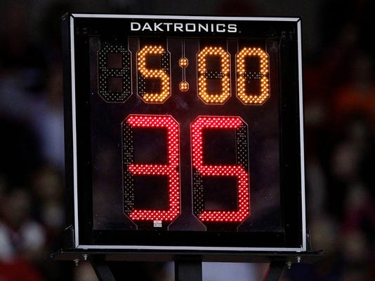 Shortening college shot clock would be short-sighted