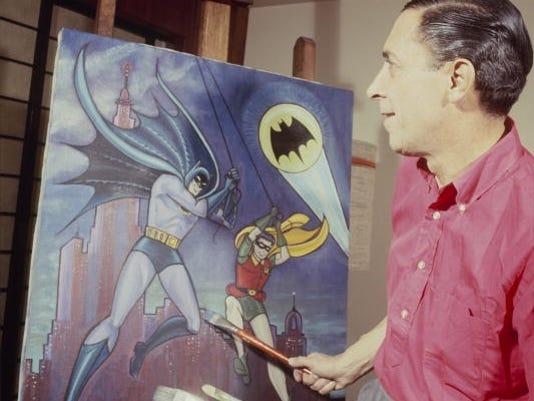 batman bob kane 1965 getty