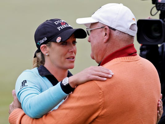 2013-5-5 cristie kerr and dad