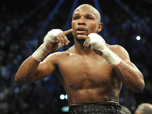 Mayweather the victor