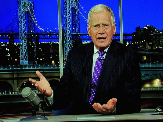 Letterman on Churchill Downs