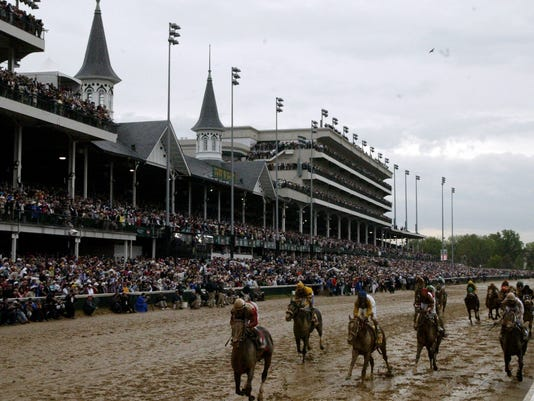 Top Derby finishers