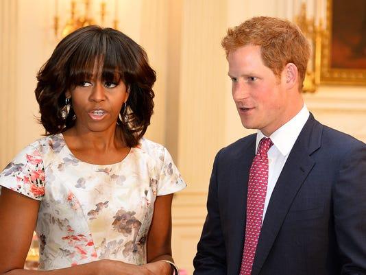 Michelle Obama, Prince Harry
