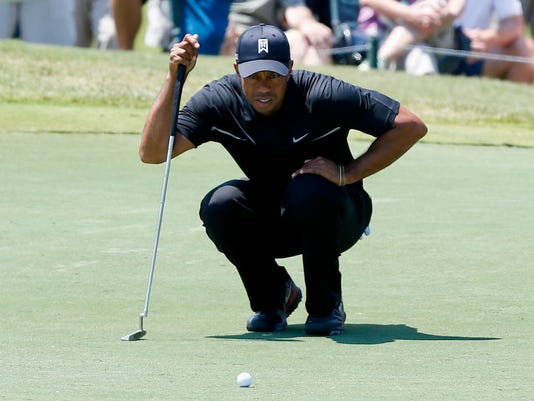 2013-5-10 tiger woods on no 3