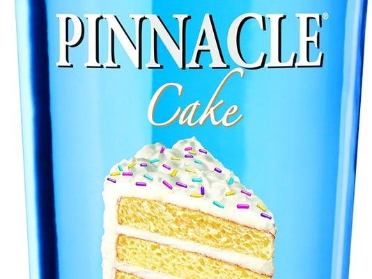 pinnacle cake vodka