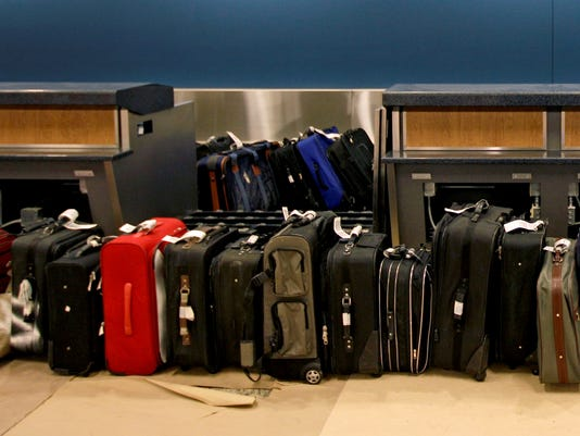 baggage airport airlines 2012