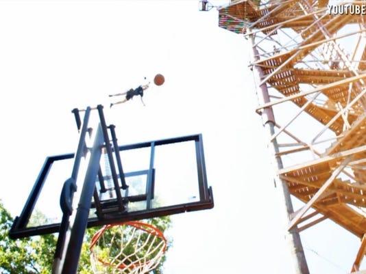 bungee basketball