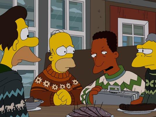 Simpsons Iceland