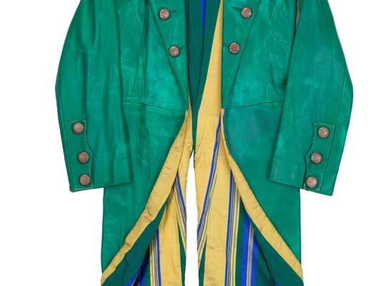 Mick Jagger's Steel Wheels leather coat