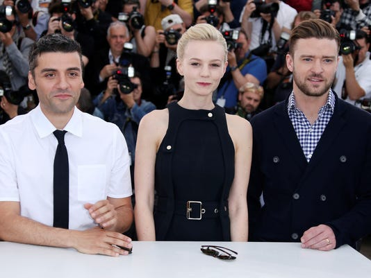 Oscar Isaac, Carey Mulligan and Justin Timberlake