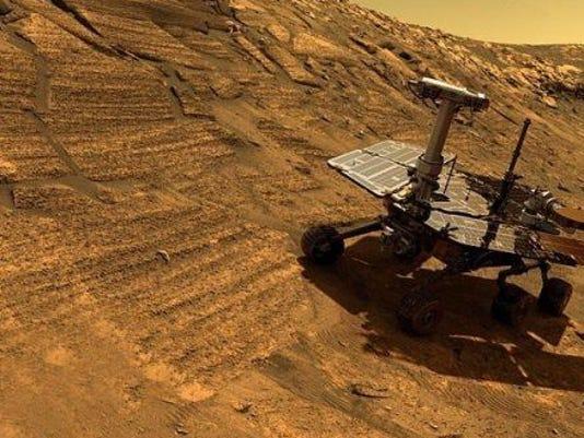mars rover record