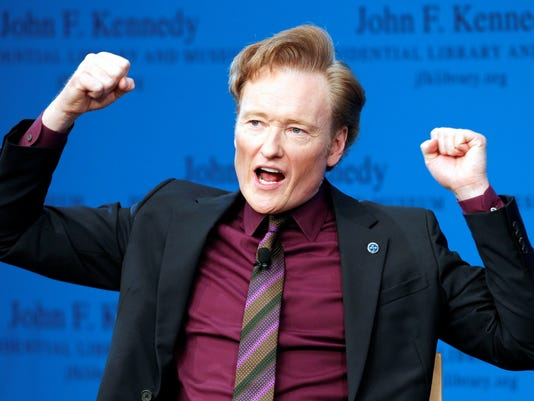 Conan O'Brien on commencement