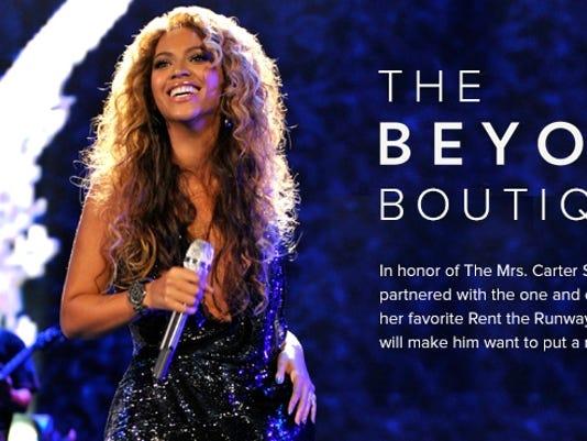 Beyonce boutique