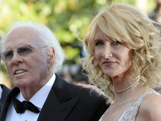 Bruce and Laura Dern