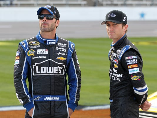 5-23-13-jimmie johnson-kasey kahne