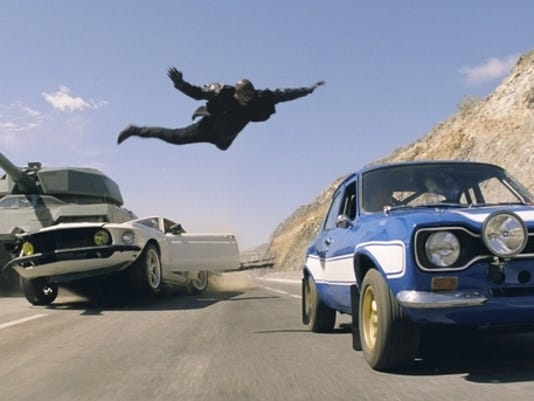 Fast , Furious 6