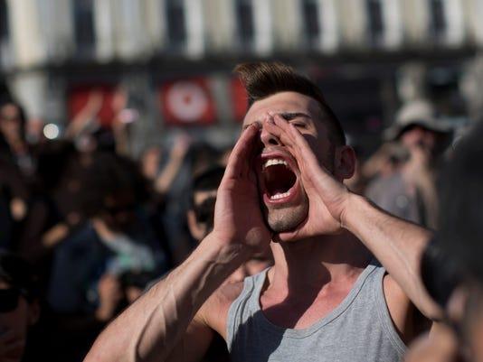 Indignados-Protest