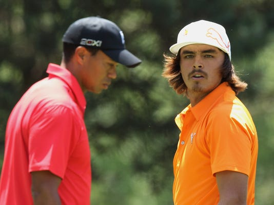 2013-5-28 rickie fowler tiger woods