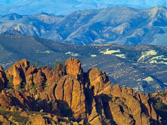 pinnacles peaks DON'T OVERWRITE