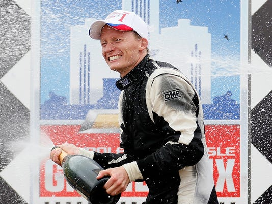 2013-06-01 Mike COnway celebrates