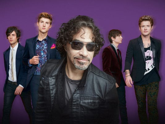 Hot Chelle Rae and John Oates