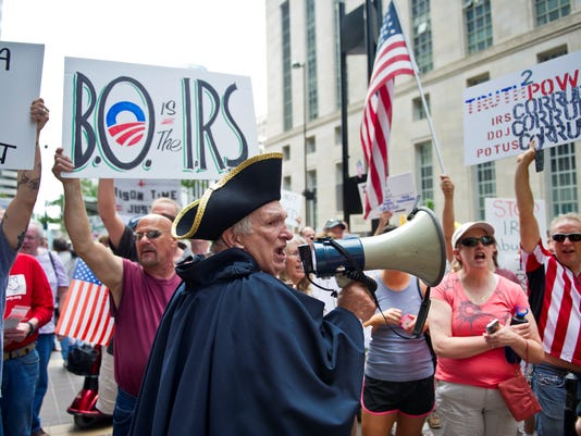 irs protest