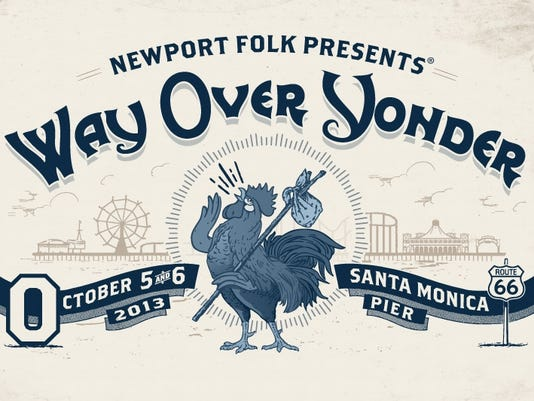 Newport Folk Festival Way Over Yonder logo