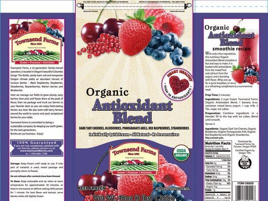 Organic Antioxidant Blend