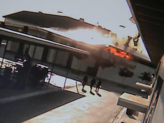 boiler room explosion