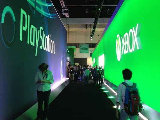 ps xbox booths