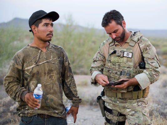 Ariz Sheriff Suspends Immigrant Patrols For Now