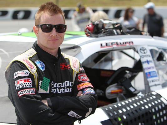 6-14-2013 jason leffler blaney