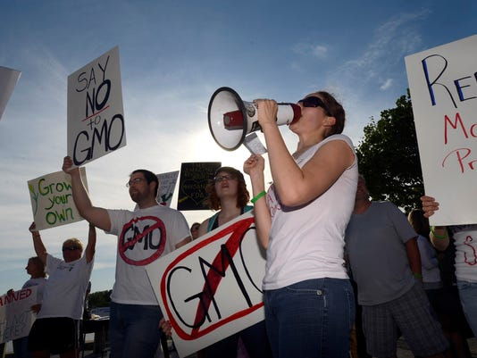 GMO protest your say