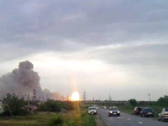Samara blast