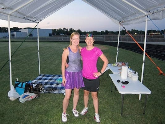 Rachel DeGrand and Kim Maas