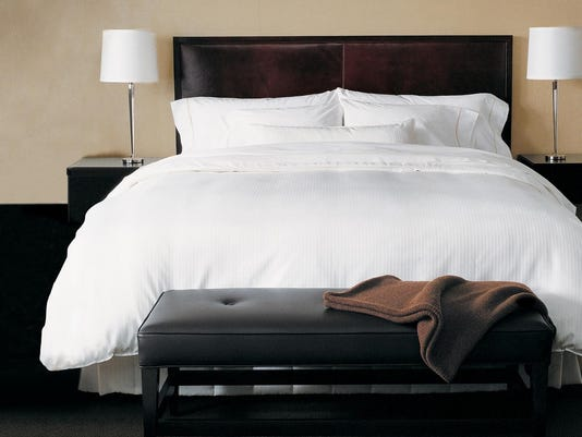 westin hotel bed